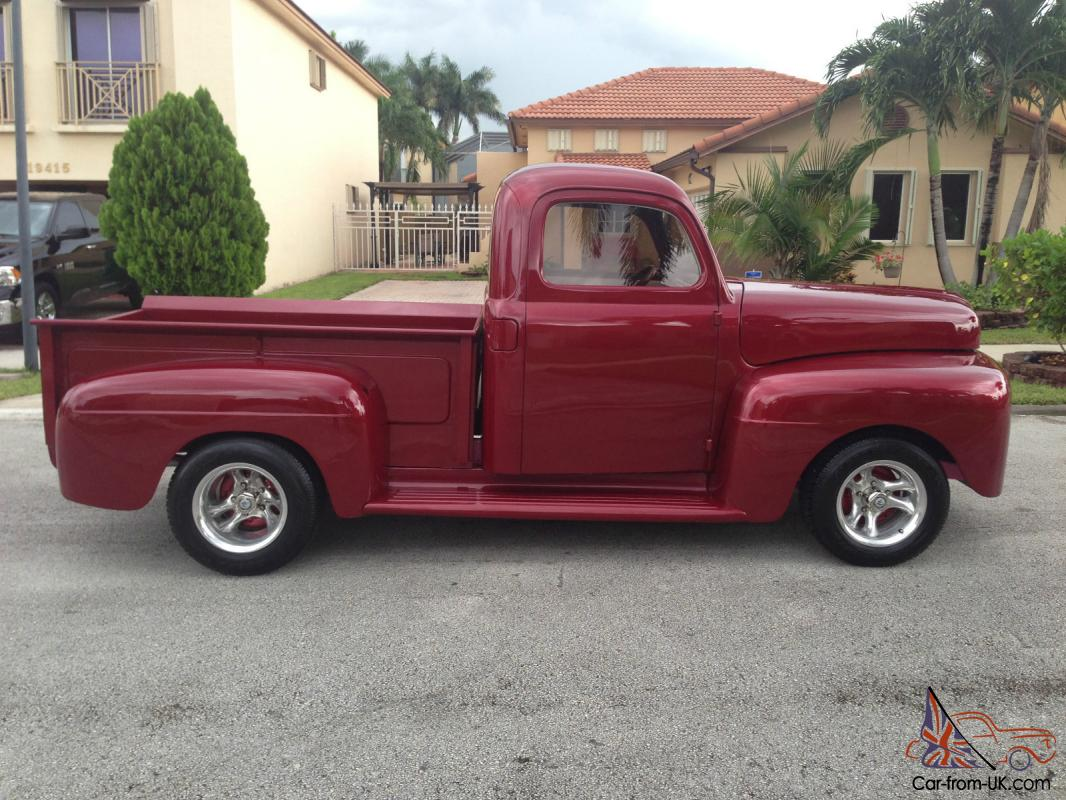 1949 Ford F1 Custom Truck Frame Off Restoration