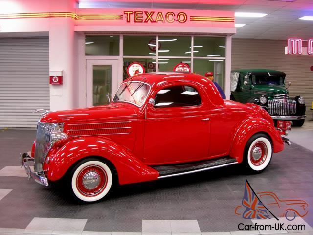 1936 ford 3 window coupe street rod hot rod for 1936 ford 3 window coupe