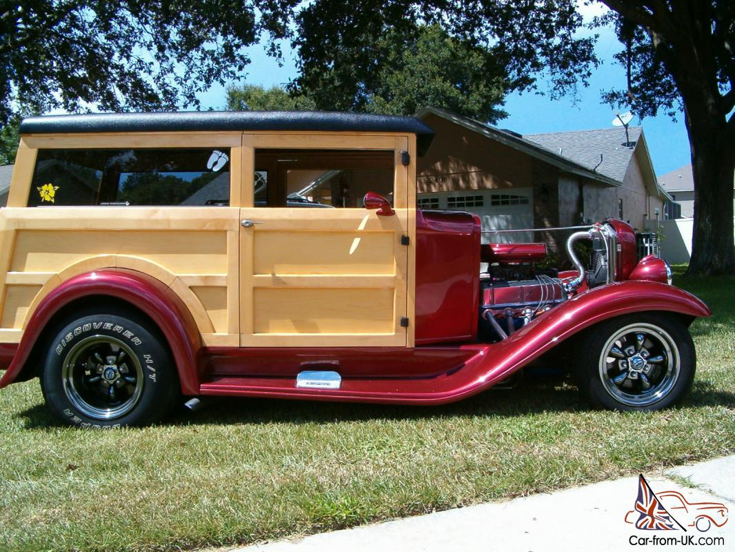 1932 Ford Woodie (Woody) Wagon NO RESRVE