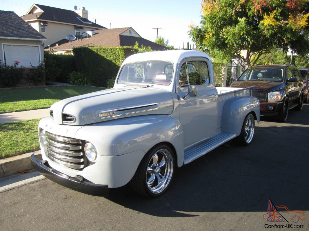 1950 ford f1 custom pick up. Black Bedroom Furniture Sets. Home Design Ideas