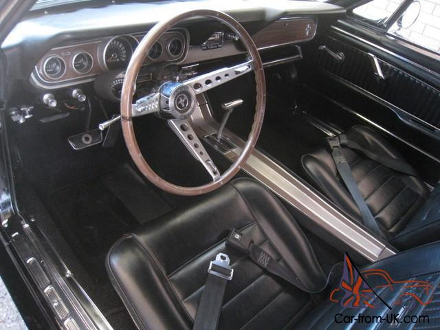 Ford Mustang Gt 1966 Convertable Triple Black Pony Interior Pwr Str Pwr Top In Melbourne Vic