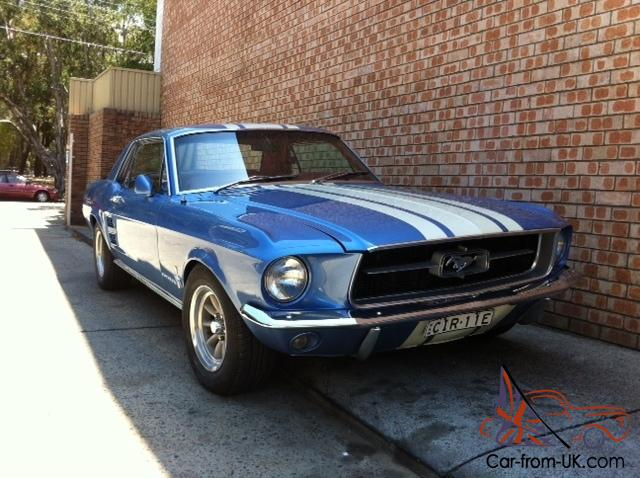 ford mustang 67 coupe. Black Bedroom Furniture Sets. Home Design Ideas