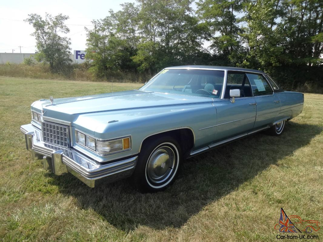 1976 cadillac sedan deville. Cars Review. Best American Auto & Cars Review