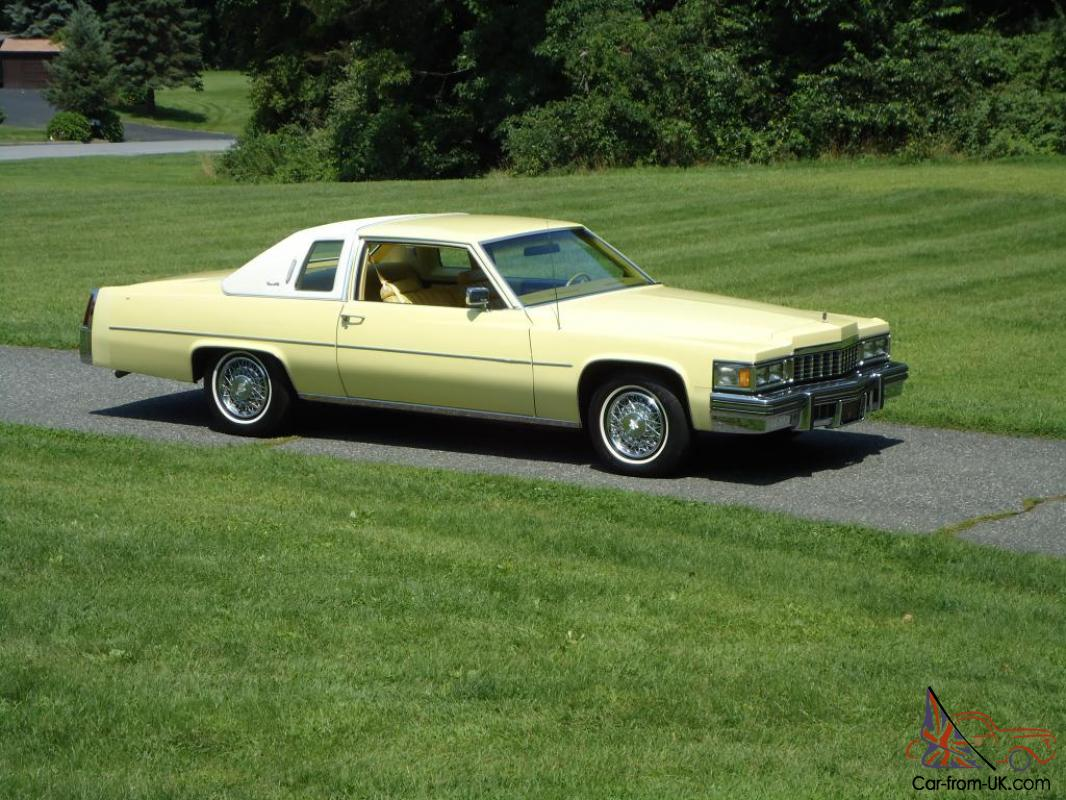 1977 Cadillac Coupe Deville Factory Fuel Injection 30 000