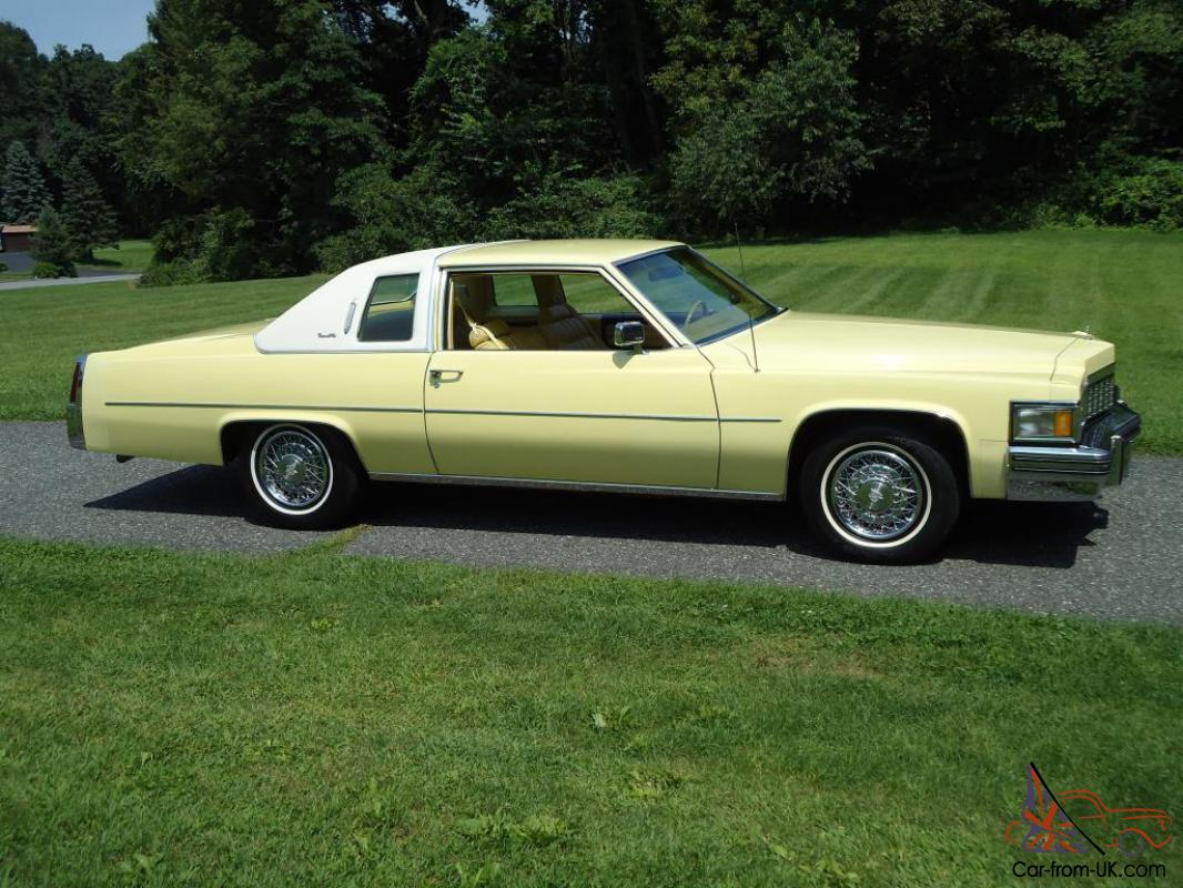 1977 cadillac coupe deville factory fuel injection 30 000 original. Cars Review. Best American Auto & Cars Review