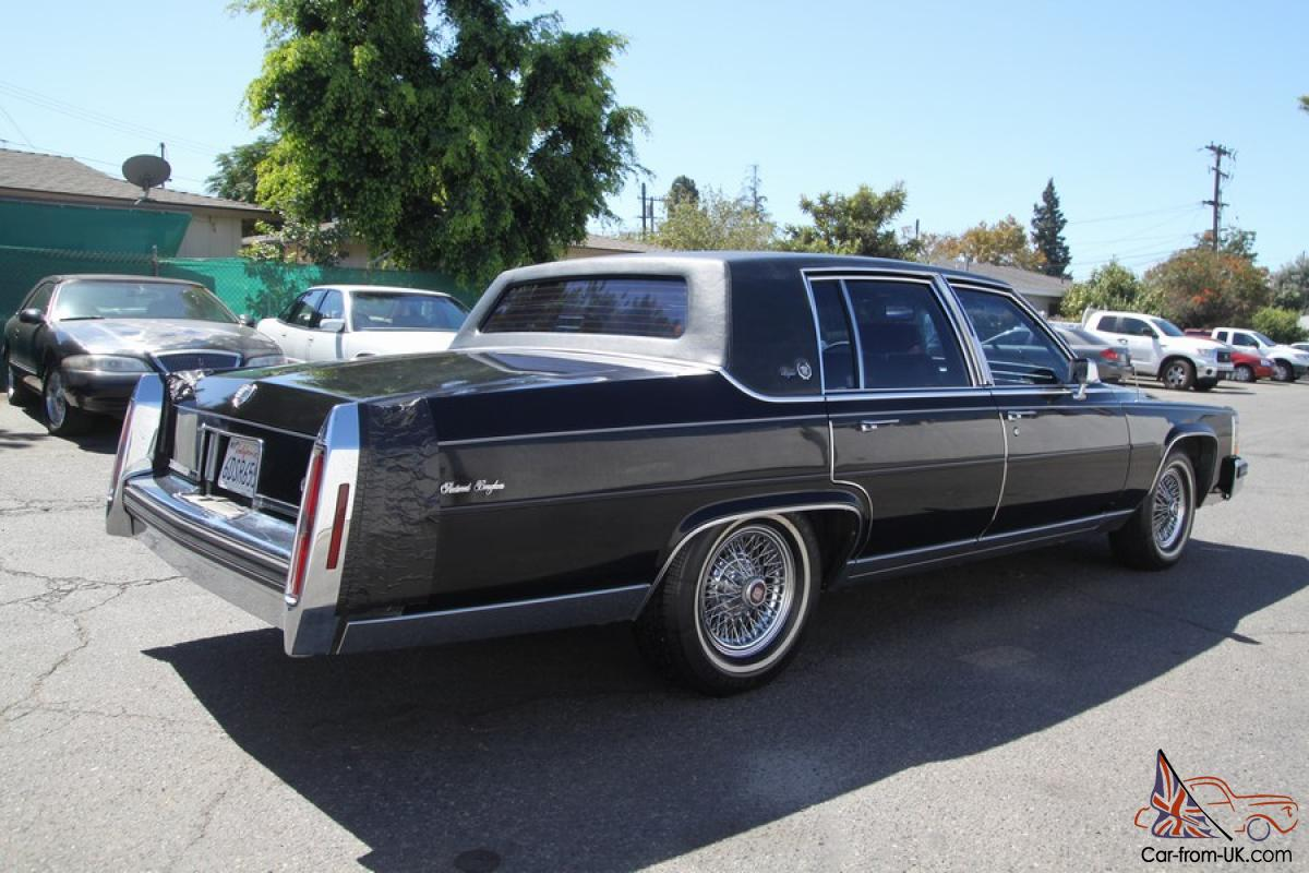 Cadillac Fleetwood Brougham For Sale Autos Post