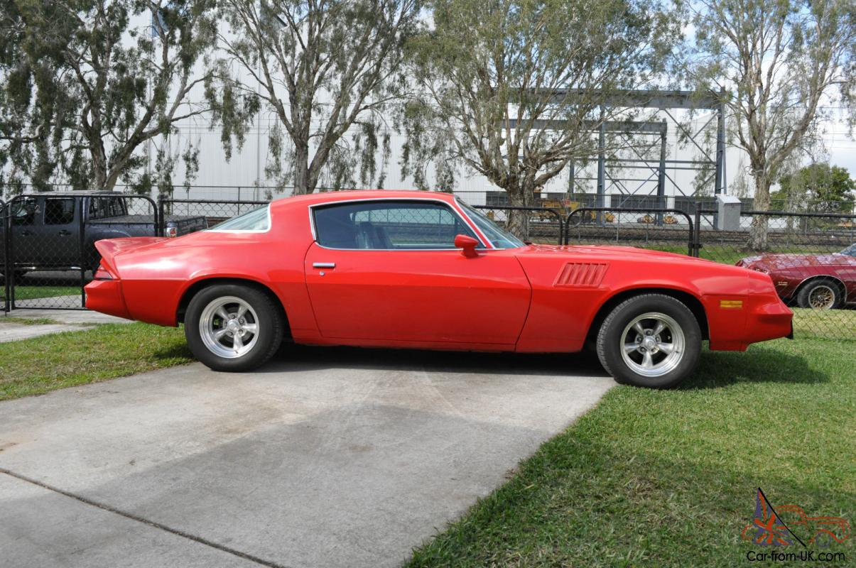 1978 Camaro Z28 In Brisbane Qld