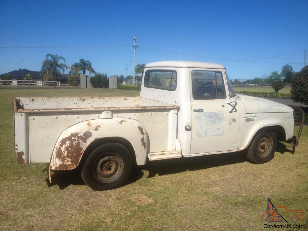 International Truck RAT ROD HOT ROD Project Cruzer C1100 Pickup in ...