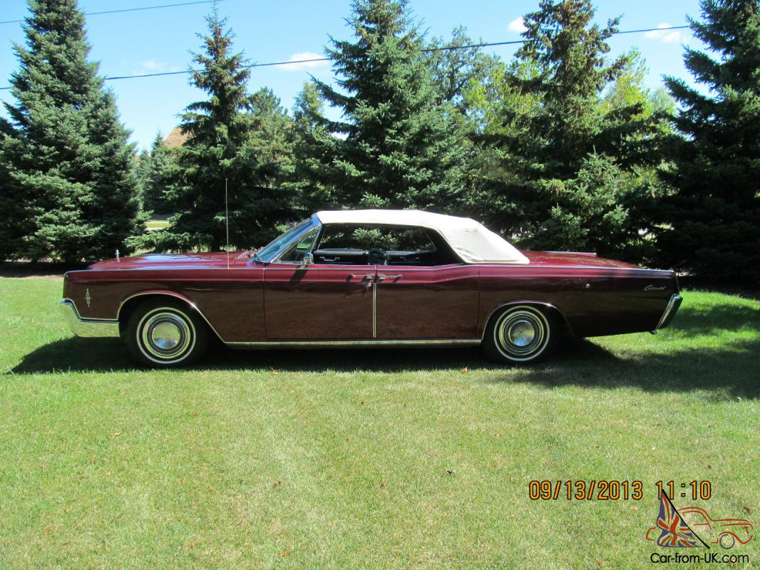 1966 lincoln continental 4 door convertible. Black Bedroom Furniture Sets. Home Design Ideas