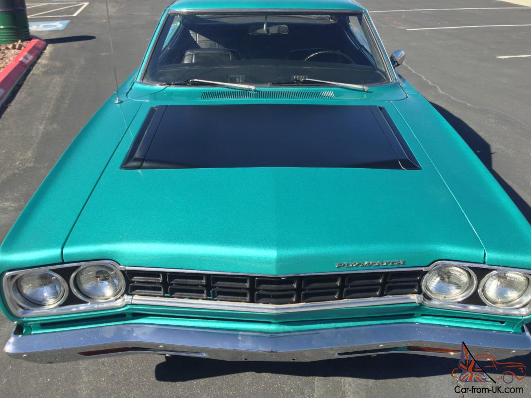 1968 Plymouth Satellite Wiring Harness Library Roadrunner Diagram Hardtop 383 Surf Turquoise No Reserve Not Gtx Charger