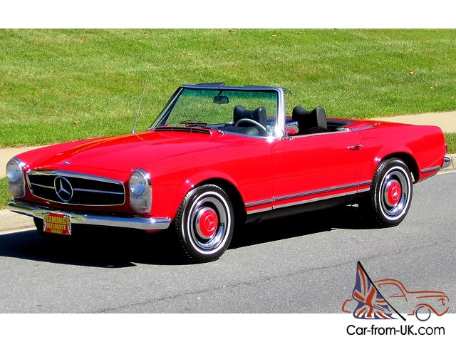 Pagoda Documented Restored 1966 Mercedes Benz 230sl Video