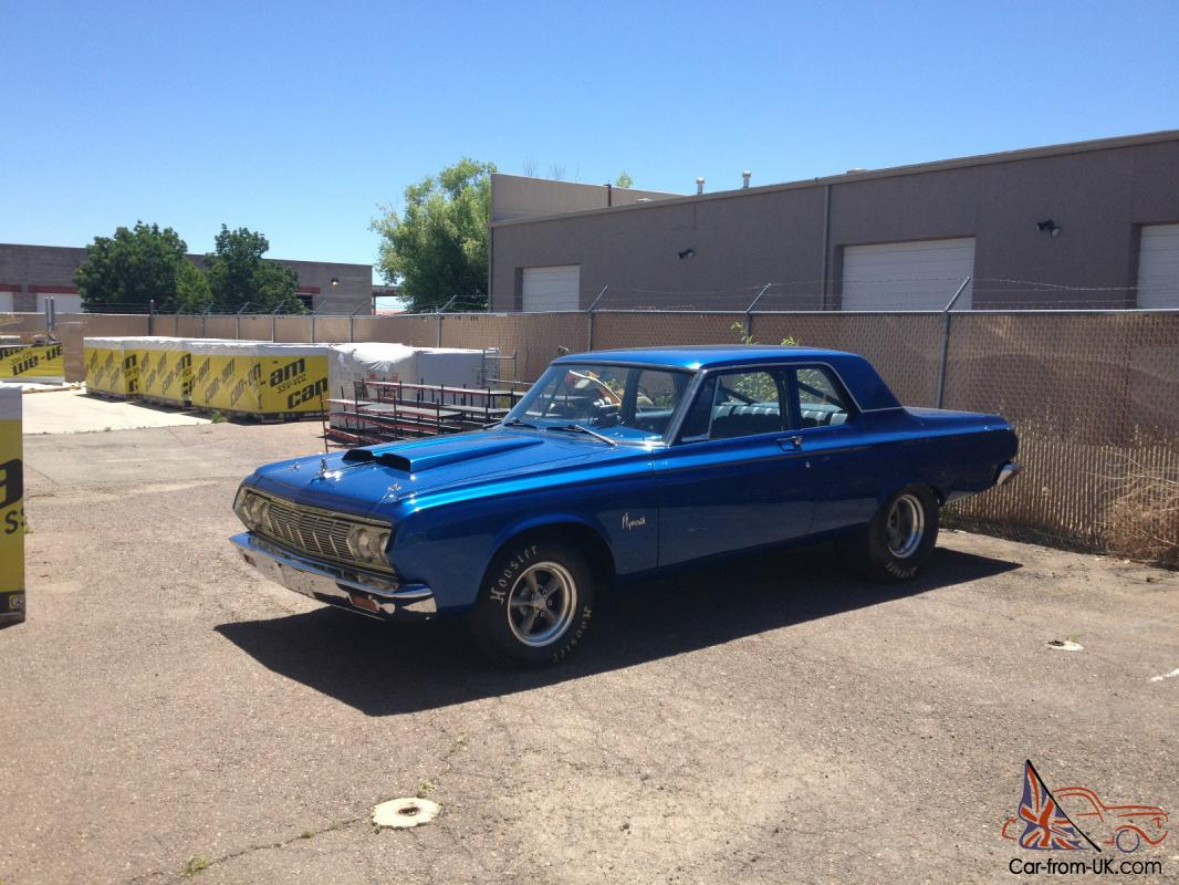 1964 Plymouth Savoy 426 Hemi Street Drag NHRA Legal Mopar