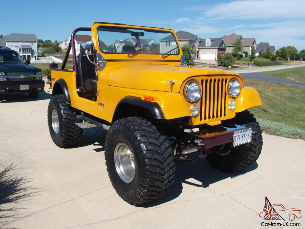 1980 Jeep CJ7 Full Custom! Chevy Engine! Lost of New Parts!