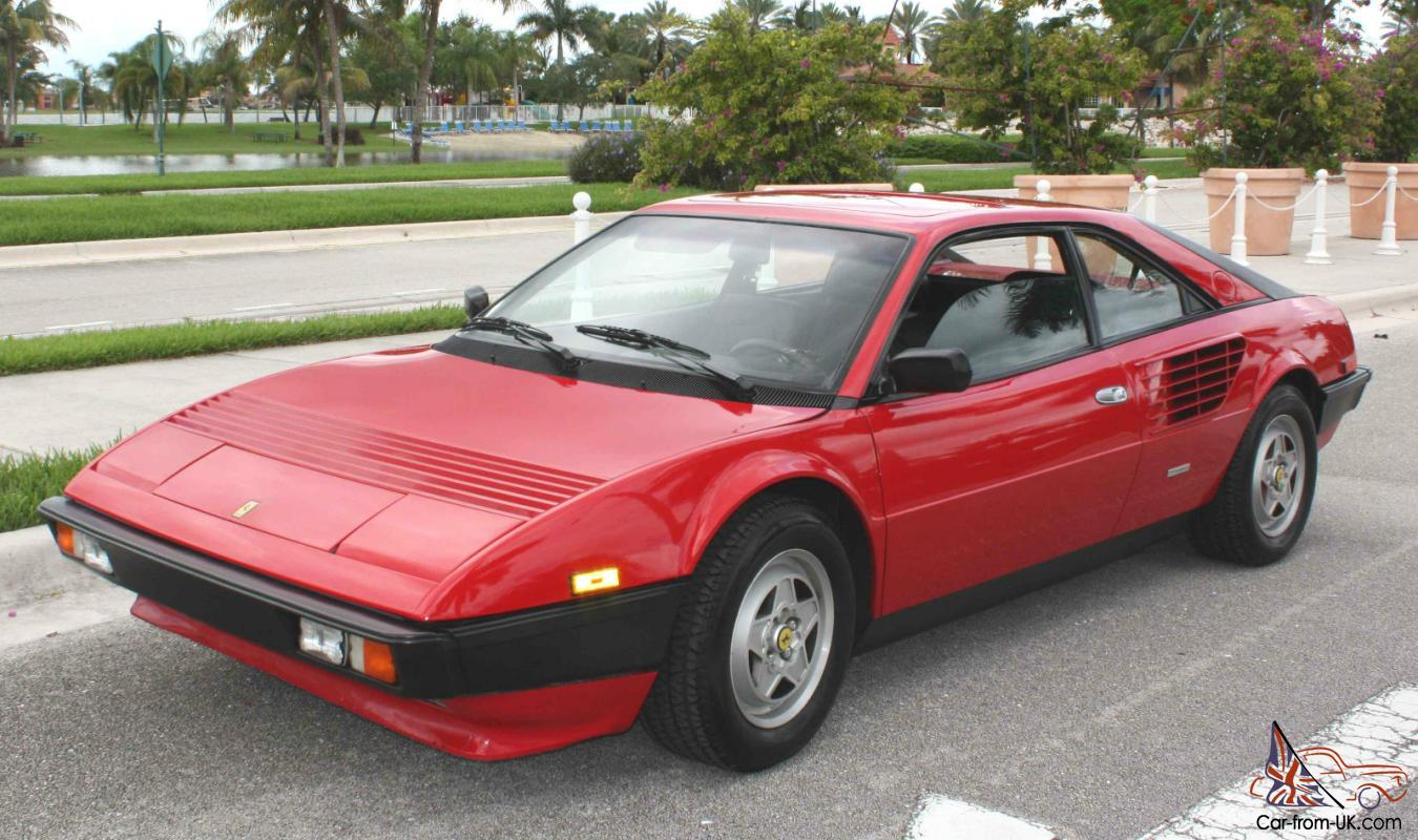1982 ferrari mondial 8 base coupe 2 door 3 0l. Black Bedroom Furniture Sets. Home Design Ideas