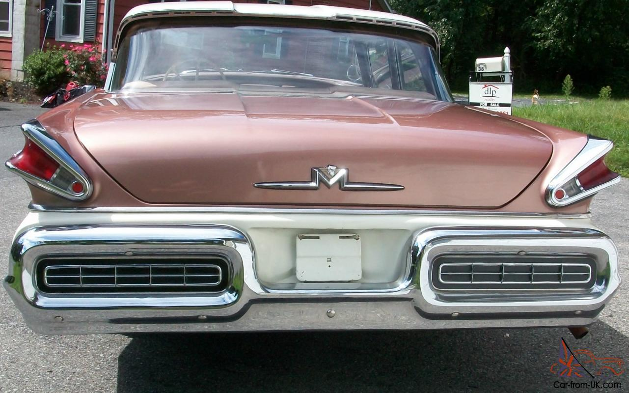 Hemmings Find Of The Day 1959 Mercury Monterey  Html