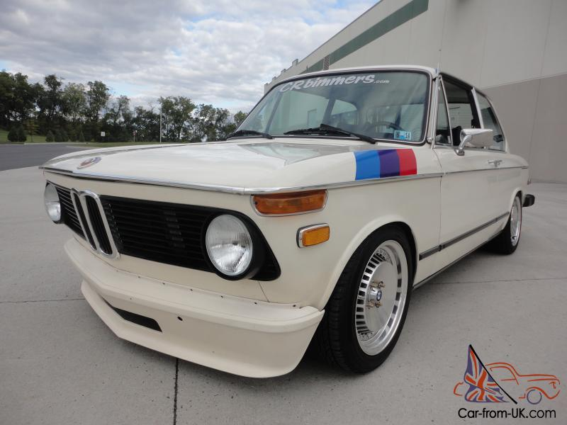 1975 Bmw 2002 Tii M20 6cyl Rust Free 2 Owner Sunroof Car 88k Miles Clean