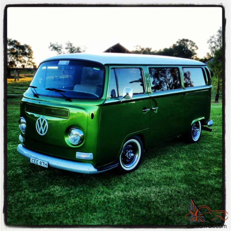 Vw Kombi Low Light Bay Window 1971
