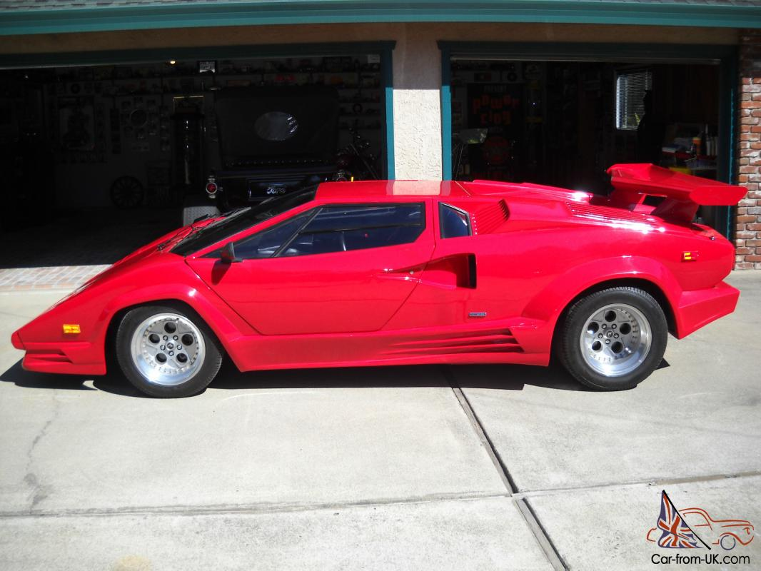 1989 Replica Kit Lamborghini Countach 25th Anniversary