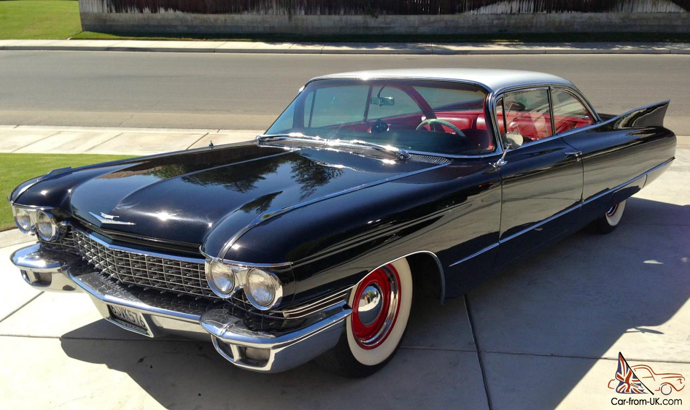 Beautiful 1960 Cadillac Deville Coupe