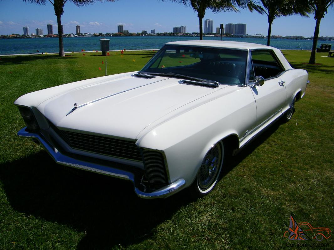 1965 BUICK RIVIERA WITH DUAL QUADS! GREAT DRIVER! POSSIBLE ...