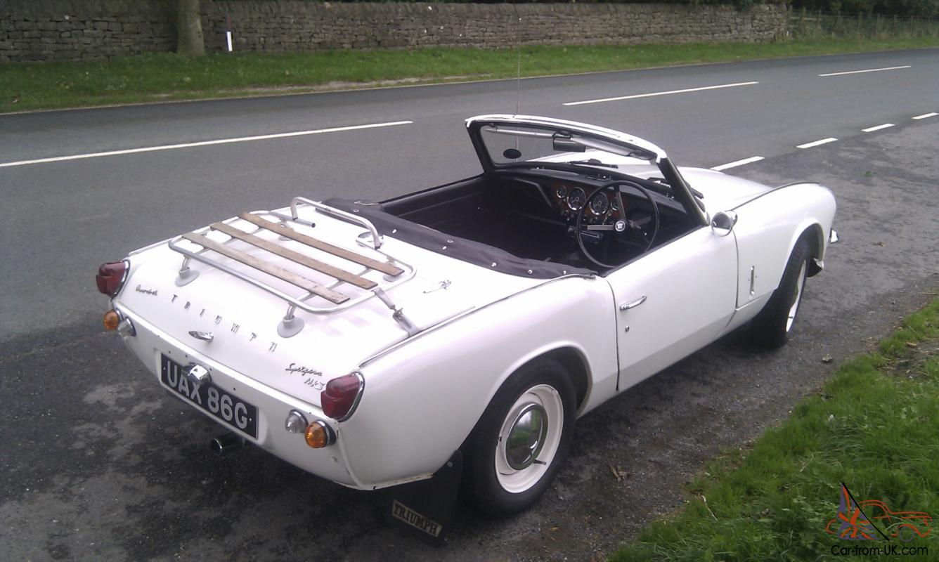 1969 TRIUMPH SPITFIRE MK3 (WITH OVERDRIVE)