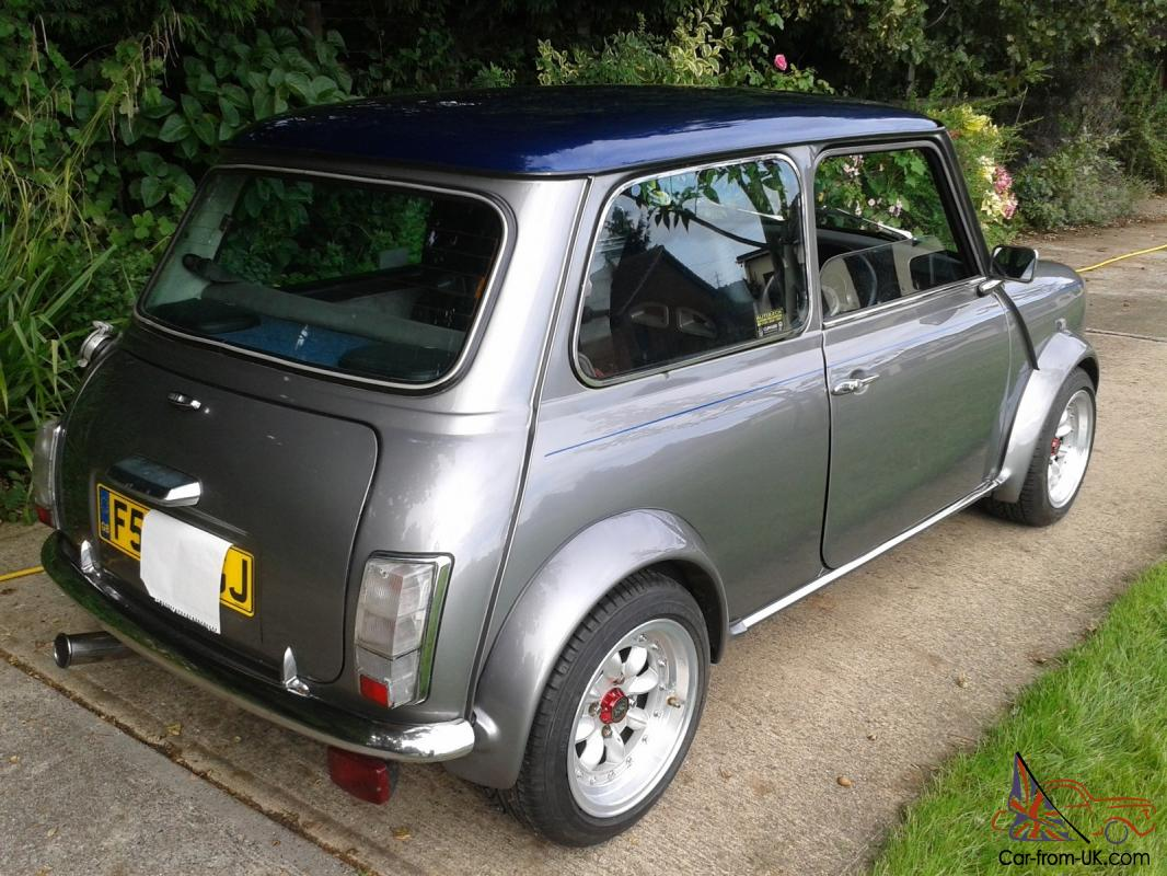 1989 austin mini mayfair grey