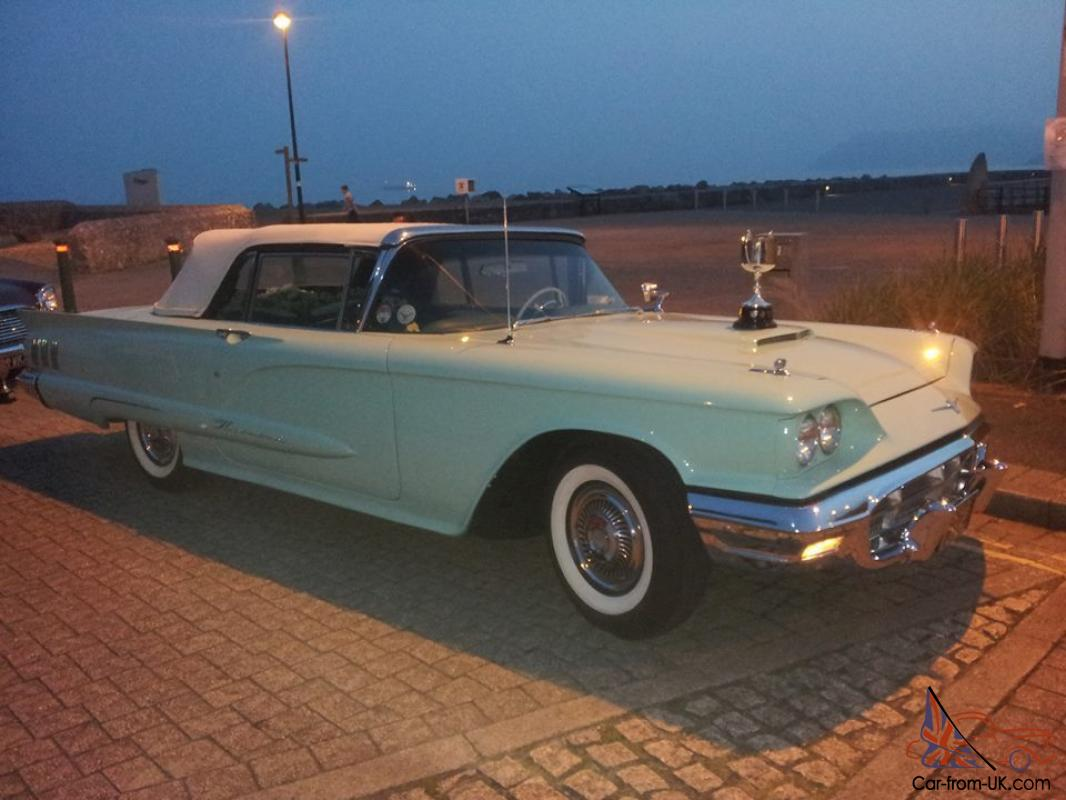 1960 ford thunderbird convertible. Cars Review. Best American Auto & Cars Review