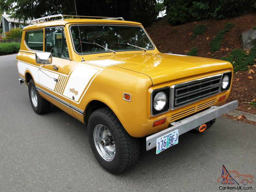 1978 international scout ii extremely well maintained for sale