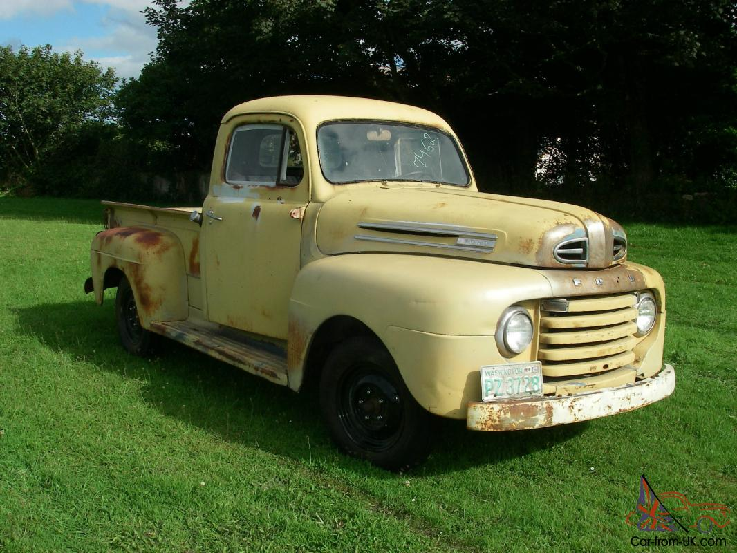 1948 Ford F1 Halfton Shortbed Pickup