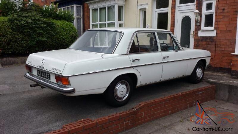 Classic mercedes 250 w114 w115 for Classic mercedes benz for sale ebay