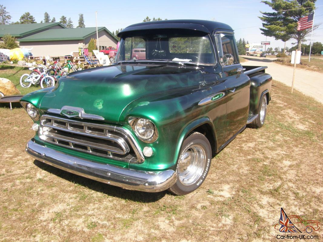 1957 chevy 3100 custom truck. Black Bedroom Furniture Sets. Home Design Ideas