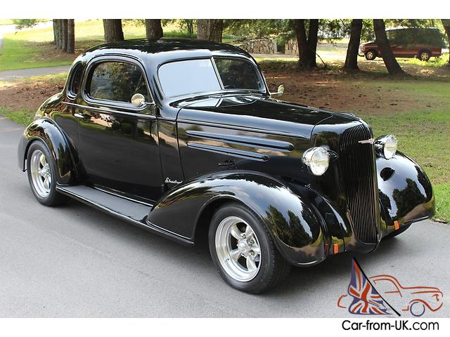 1936 chevy coupe v8 ps pdb ac all steel two door 5 window for 1936 chevy 5 window coupe