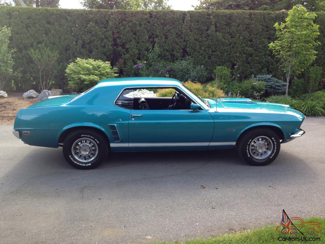 1969 ford mustang gt coupe