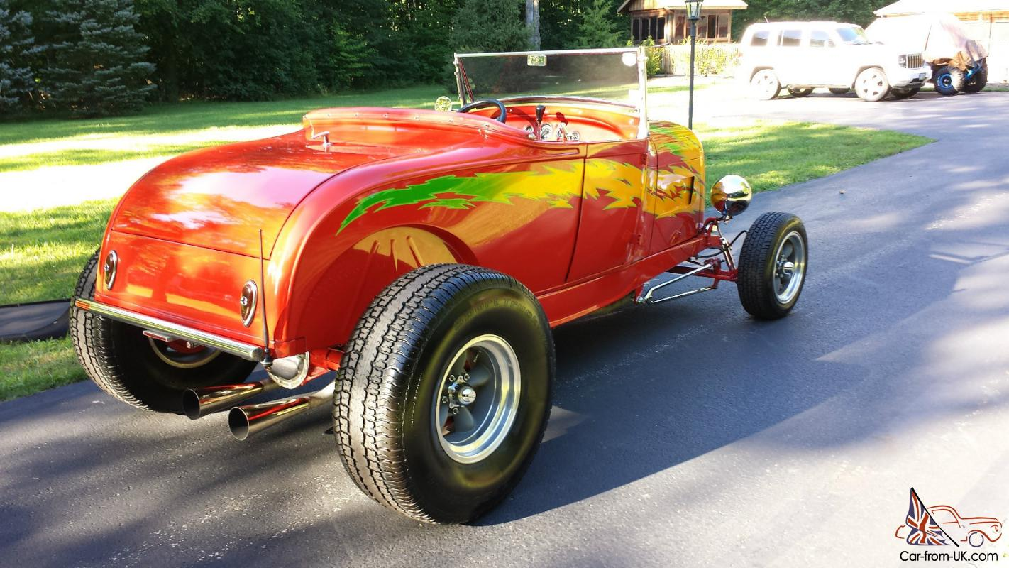 1932 31 Ford Roadster Convert Rumble Seat Steel Chevy