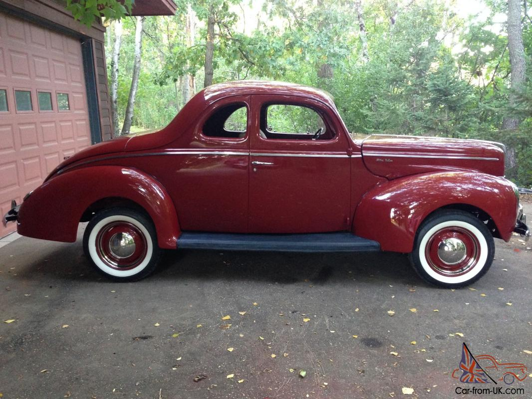 1940 Ford Coupe Project Car Pictures - Car Canyon