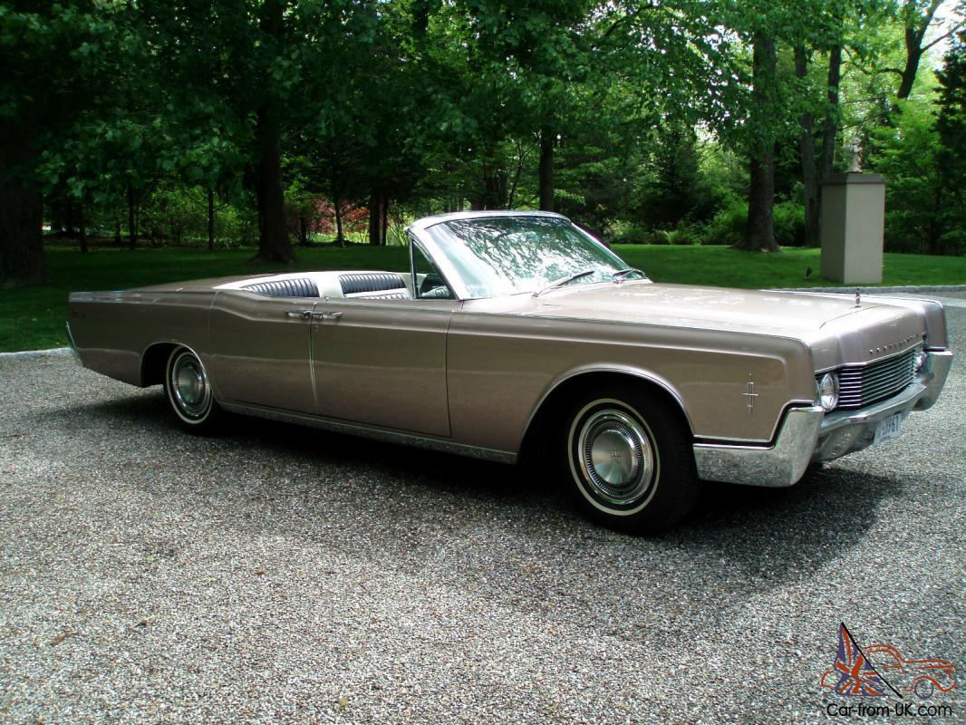 1966 lincoln continental convertible 48 434 miles suicide doors. Black Bedroom Furniture Sets. Home Design Ideas