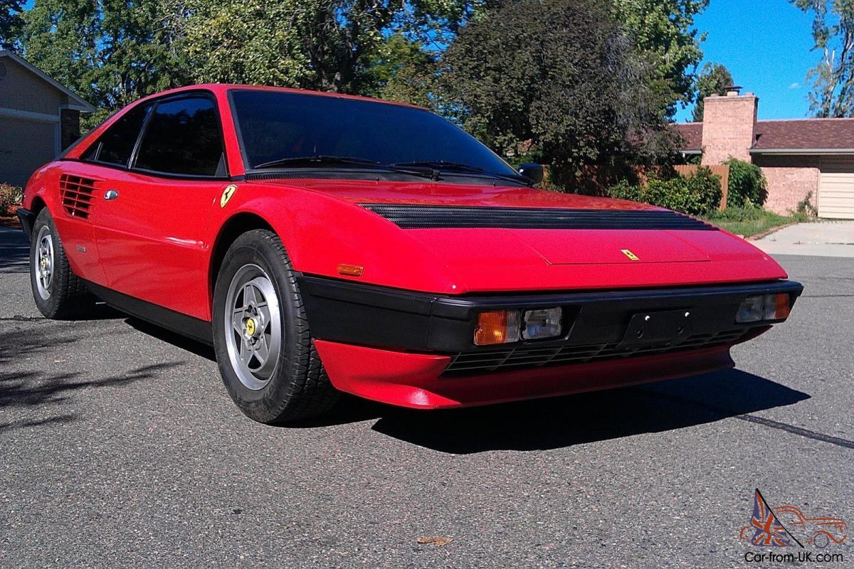 1983 ferrari mondial quattrovalvole euro model no reserve not 308 gt 4 328. Black Bedroom Furniture Sets. Home Design Ideas