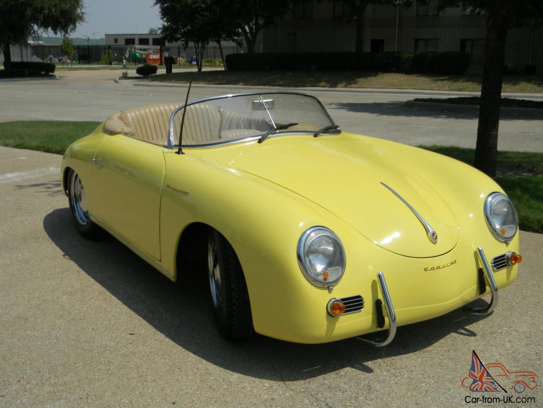 1957 porsche 356 speedster replica. Black Bedroom Furniture Sets. Home Design Ideas