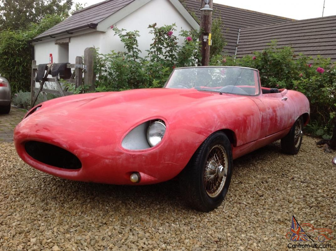 JPR Wildcat Jaguar E-Type Replica