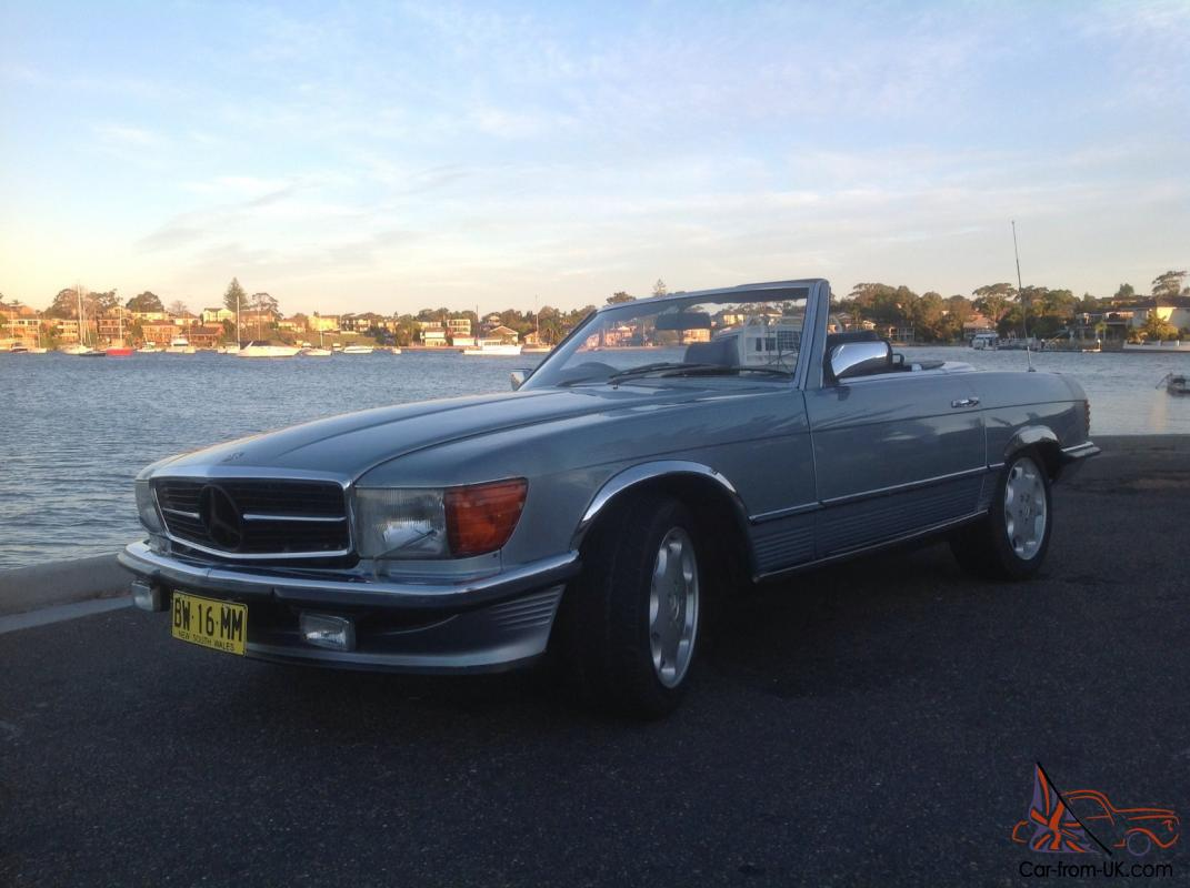Mercedes benz 500 sl convertible 1984 for 500 mercedes benz for sale