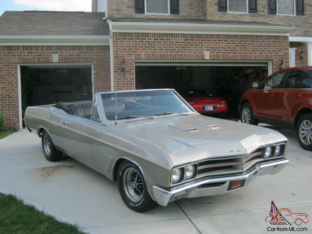 1967 buick gs400 convertible muscle car. Black Bedroom Furniture Sets. Home Design Ideas