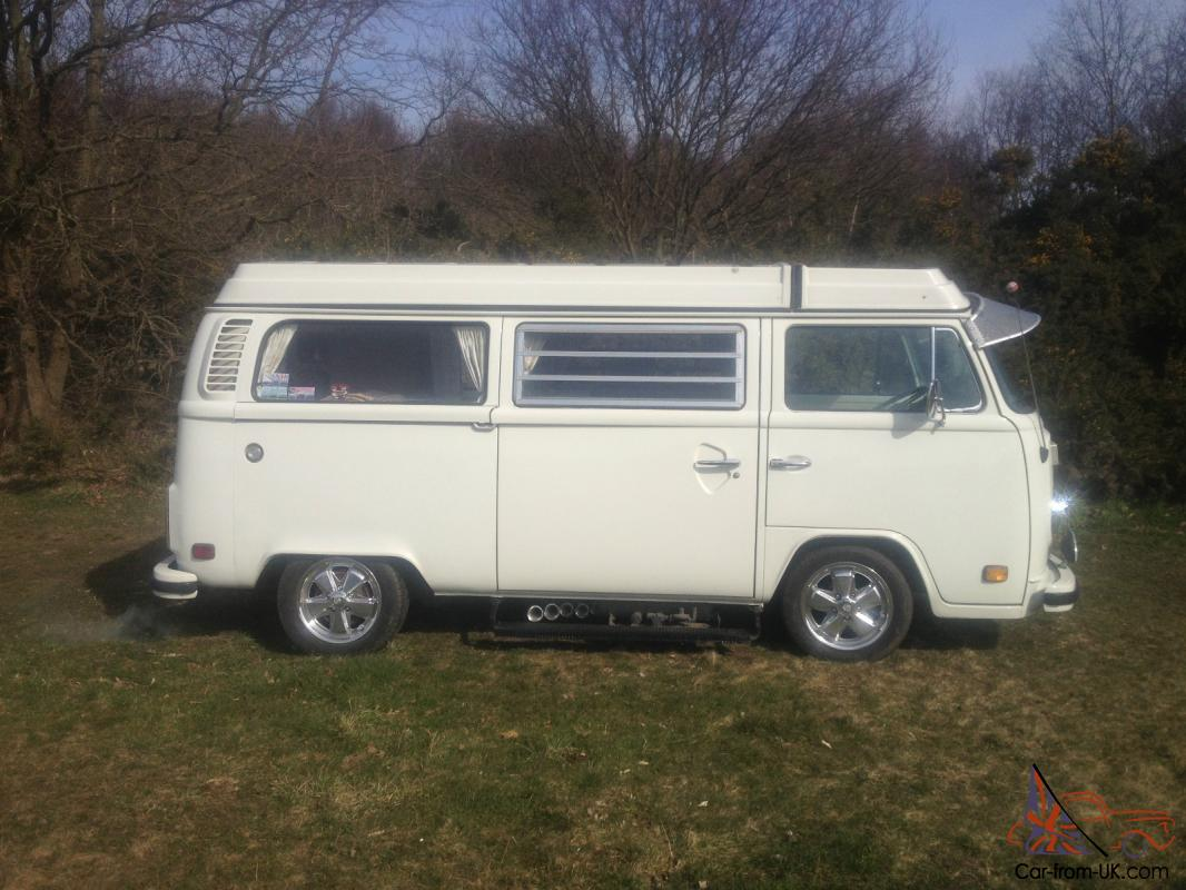 stunning vw t2 1979 bay window berlin westfalia deluxe camper 2l auto automatic. Black Bedroom Furniture Sets. Home Design Ideas