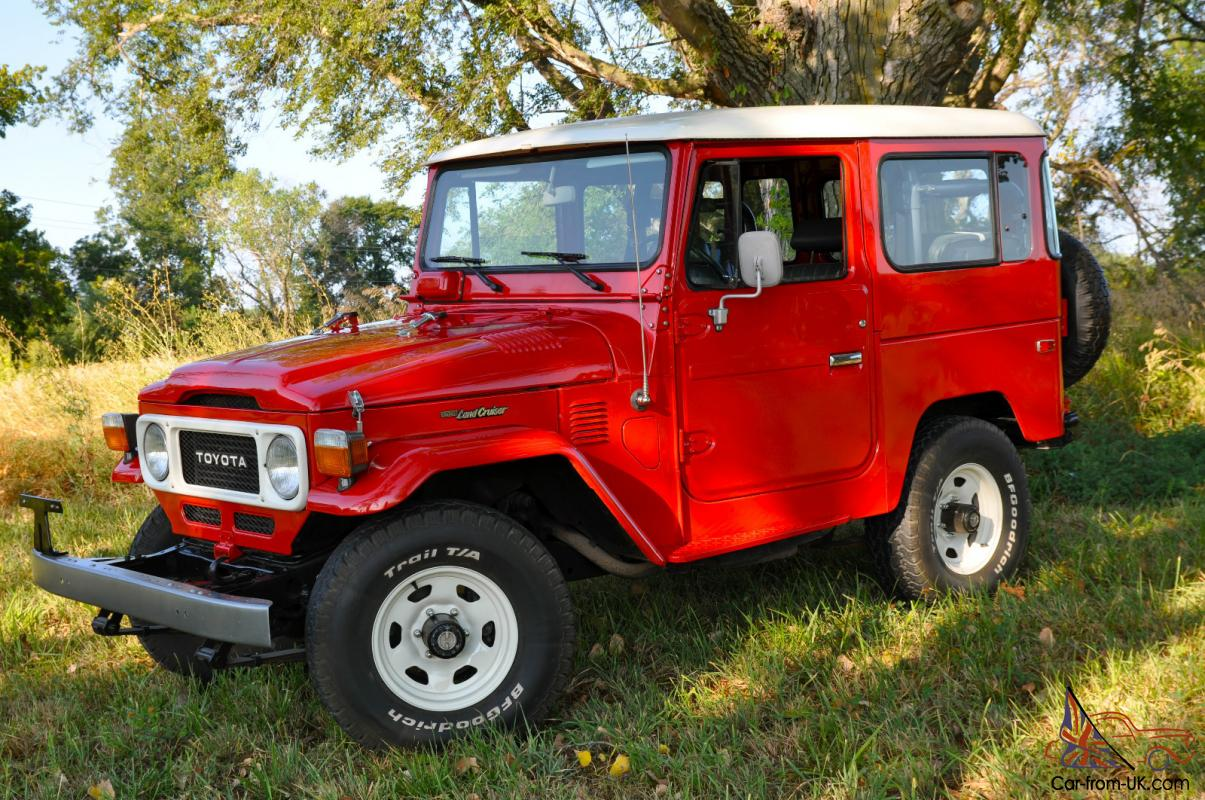 1983 toyota land cruiser fj40 factory ps and a c. Black Bedroom Furniture Sets. Home Design Ideas