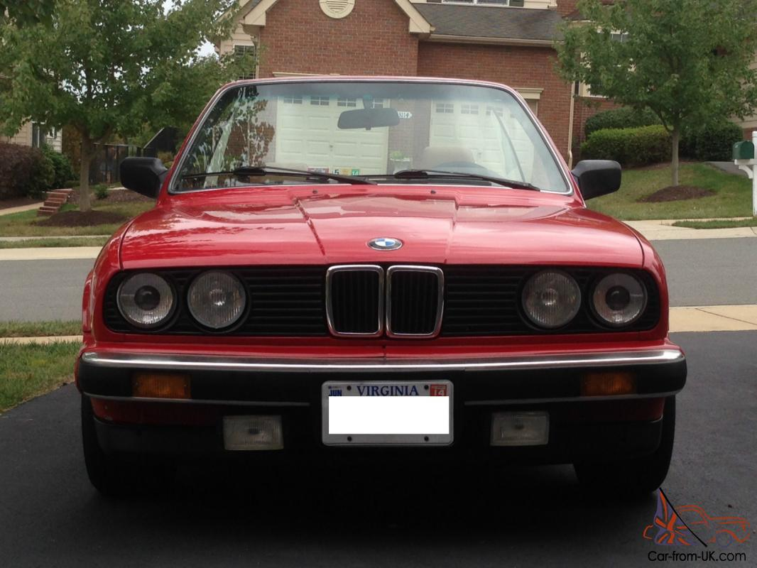 1989 bmw 325i base convertible 2 door 2 5l. Black Bedroom Furniture Sets. Home Design Ideas