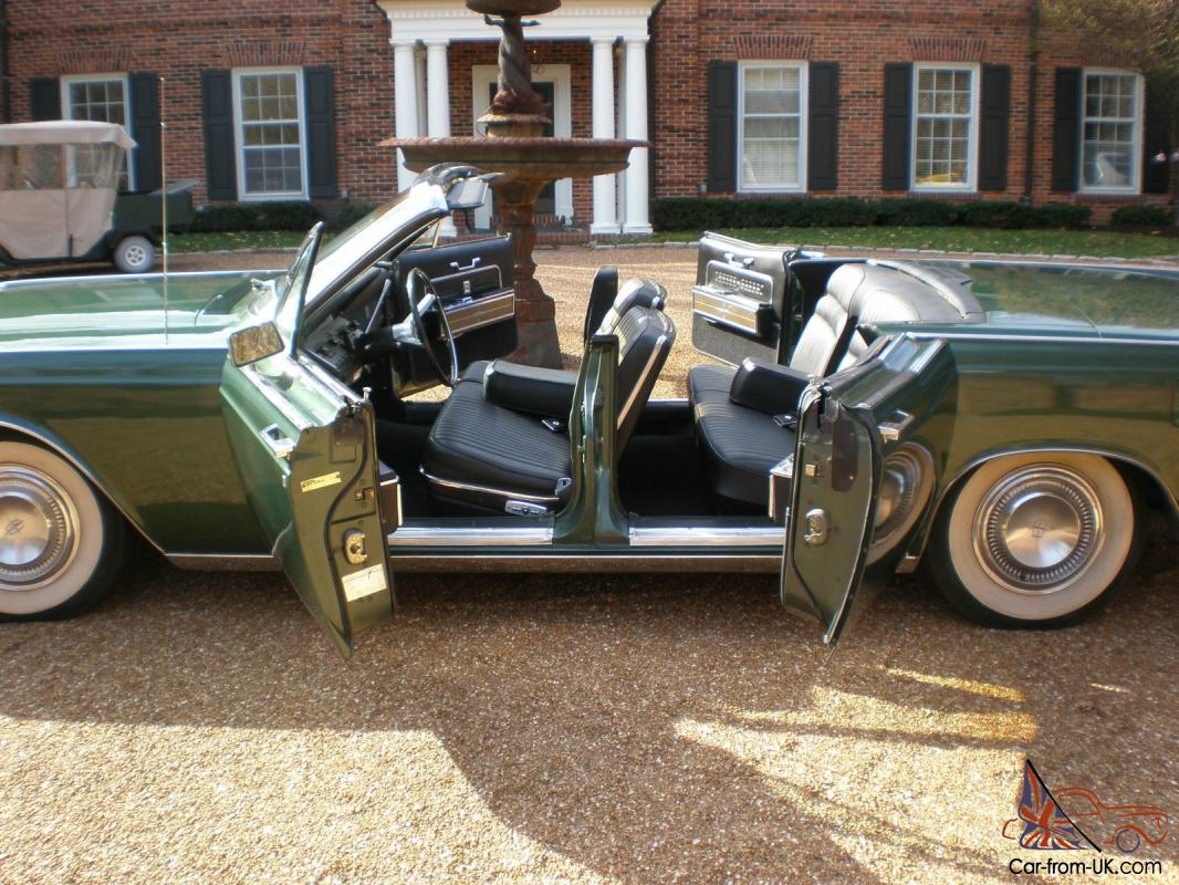 1966 lincoln continental convertible suicide doors mint collector quality. Black Bedroom Furniture Sets. Home Design Ideas