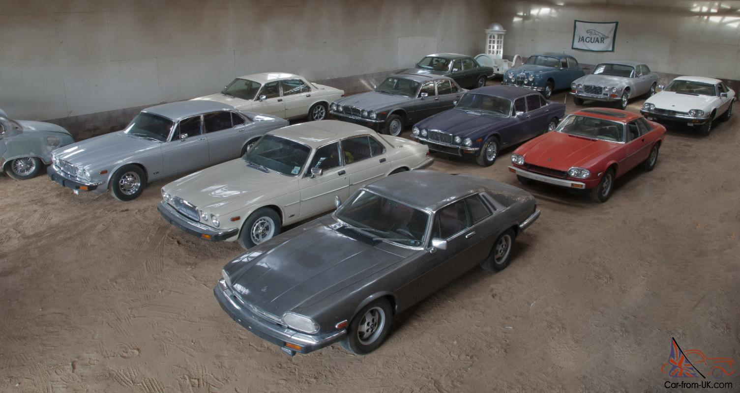 Exclusive Jaguar Classic Car Collection