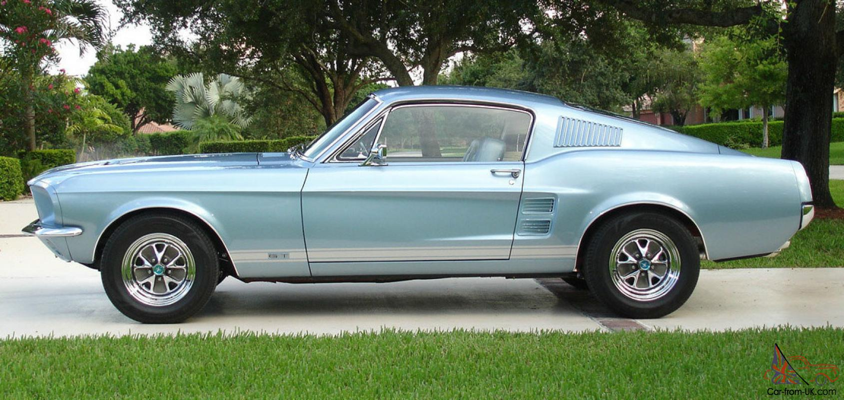 1967 ford mustang gt fastback one of a kind. Black Bedroom Furniture Sets. Home Design Ideas