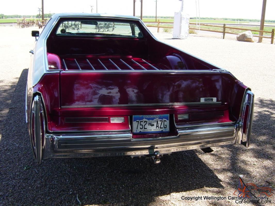 Rare 1975 Cadillac Caribou Pickup From Deville Show Car 500cid