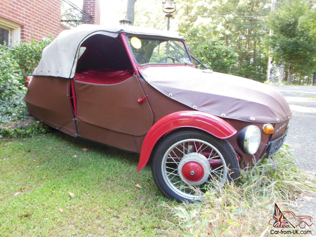 Velorex Cycle Car by JAWA, three wheeler, vintage, Oskar
