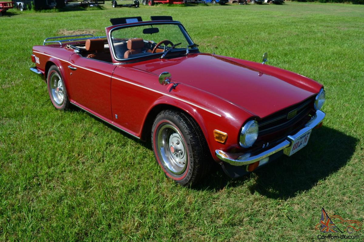 1976 triumph tr6 outstanding original condition. Black Bedroom Furniture Sets. Home Design Ideas